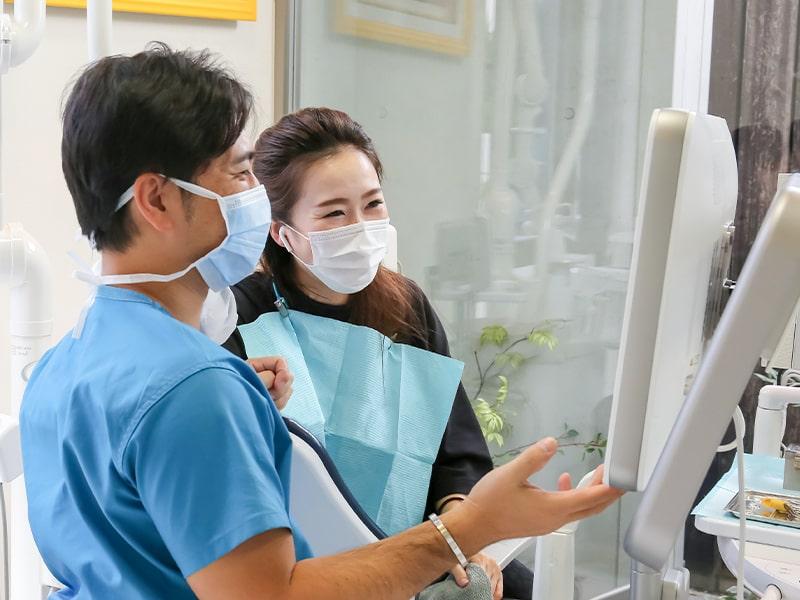 清誠歯科は治療後の歯の健康をサポートします