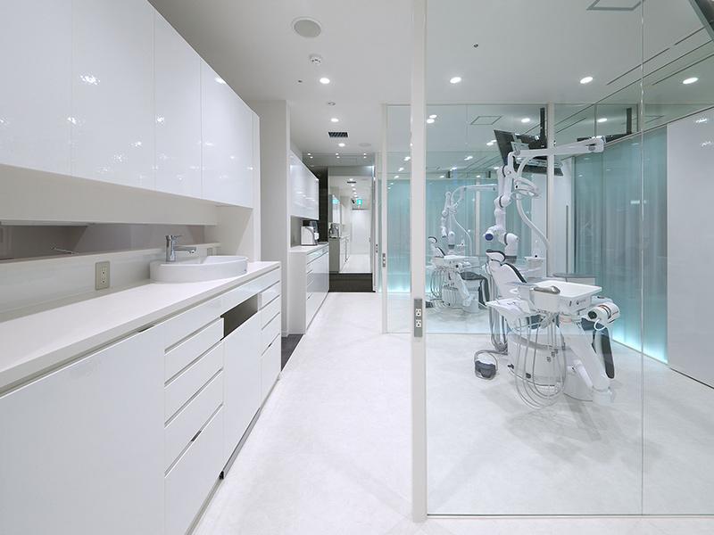 清誠歯科 松原院(カナートモール内)院内写真/治療スペース