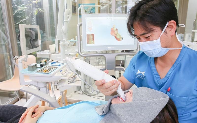 清誠歯科のインビザライン・マウスピース矯正の流れ|マウスピース作成に必要な写真撮影の様子